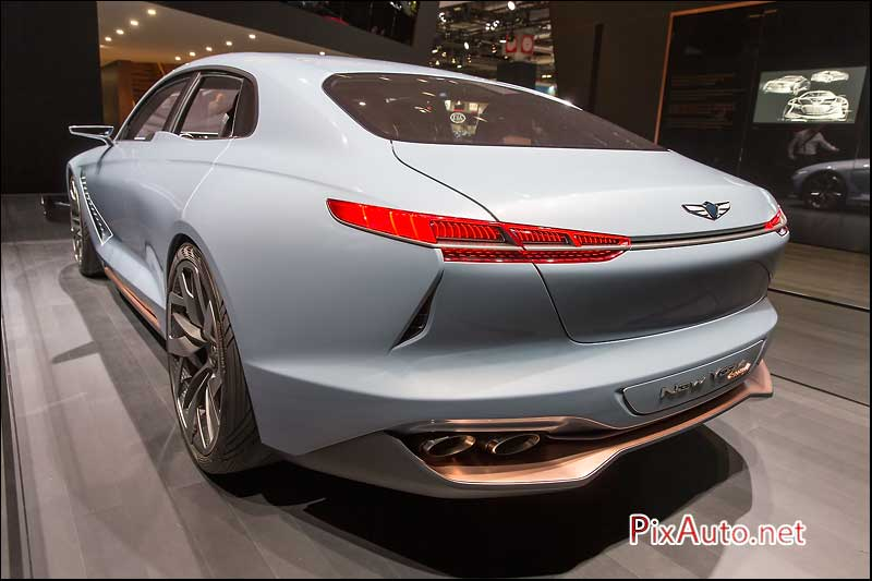MondialdelAutomobile-Paris, Concept Genesis Hybrid Sports Sedan