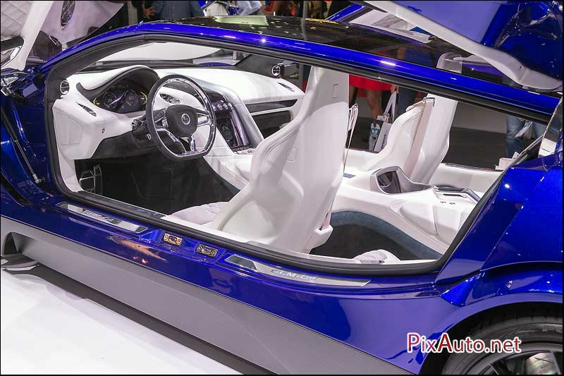 MondialdelAutomobile-Paris, Concept GLM-G4 Habitacle