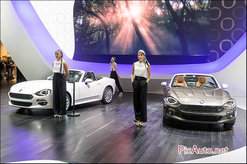 MondialdelAutomobile-Paris, Fiat 124 Spider