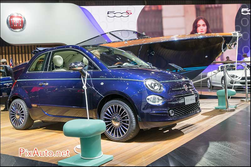 MondialdelAutomobile-Paris, Fiat 500 Riva
