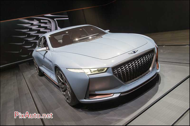 MondialdelAutomobile-Paris, Genesis Hybrid Sports Sedan Concept