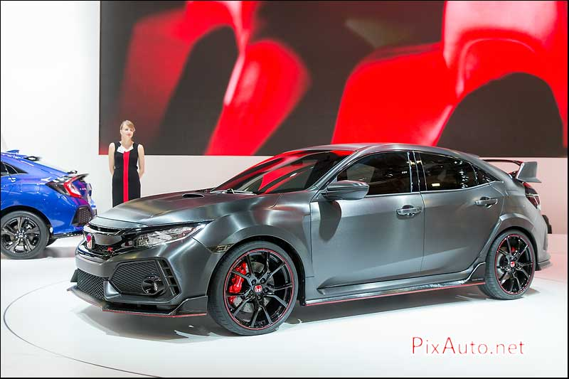 MondialdelAutomobile-Paris, Honda Civic Type R Prototype
