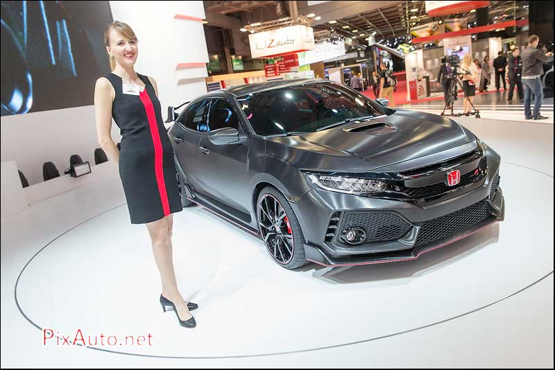 MondialdelAutomobile-Paris, Honda Civic Type R