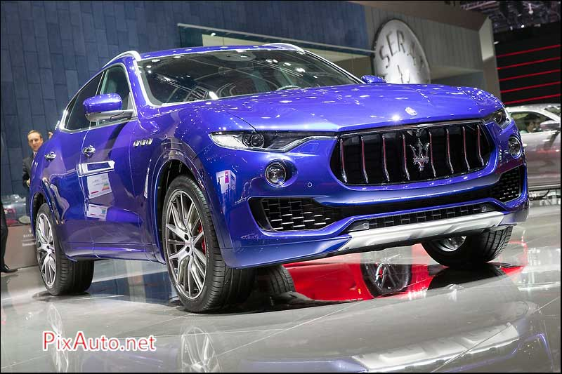 MondialdelAutomobile-Paris, Maserati Levante