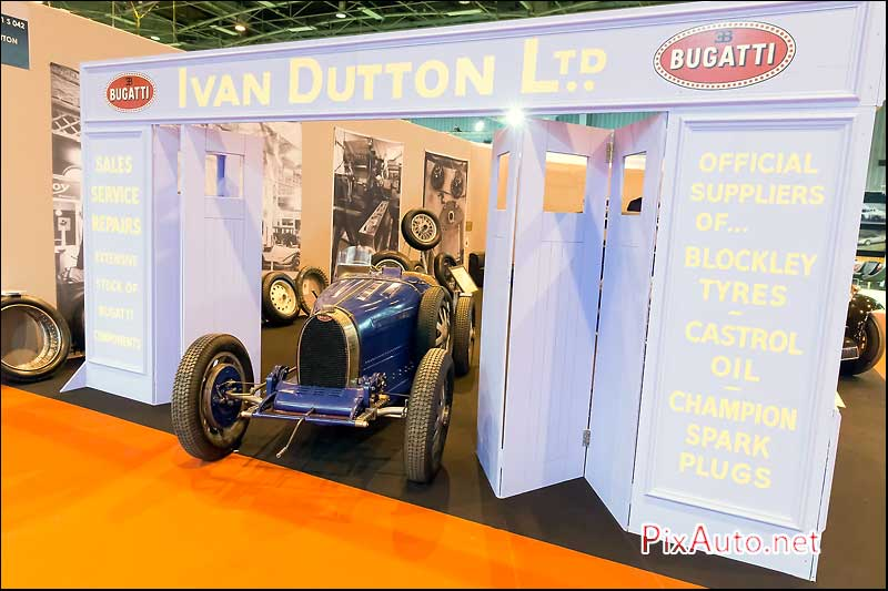 Salon Retromobile, Garage Bugatti Ivan Dutton