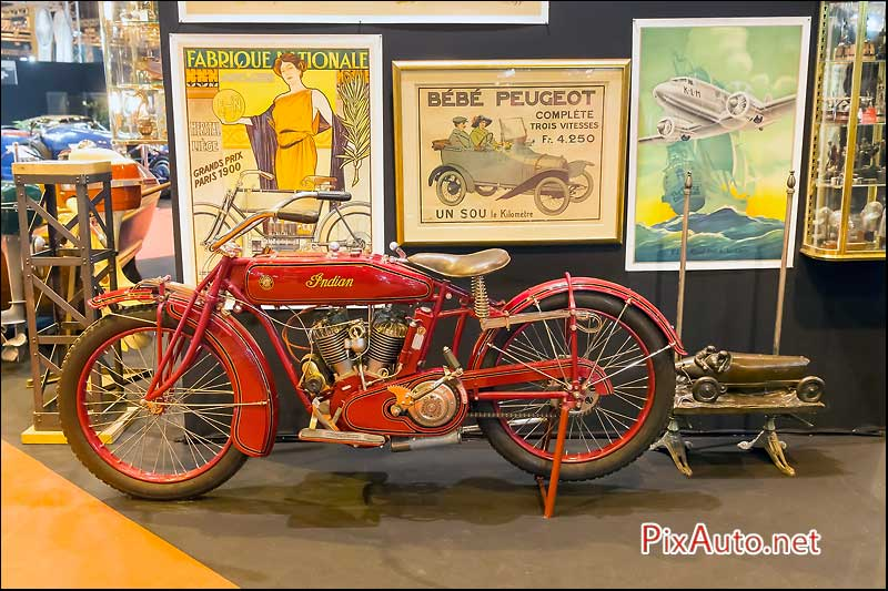 Salon Retromobile, Indian Board Track Racer
