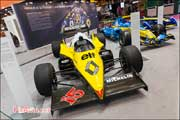 Salon Retromobile, Renault RE40, R26 et Formula-E