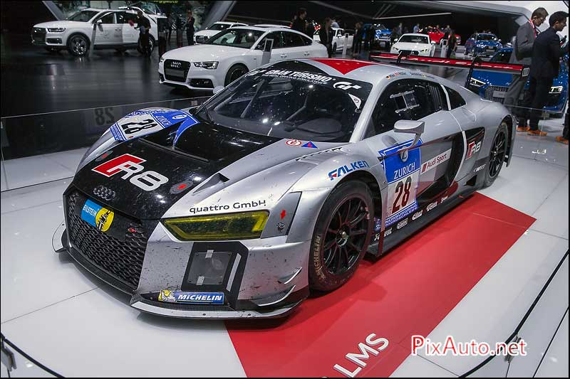 Geneva International Motor Show, Audi R8 LMS