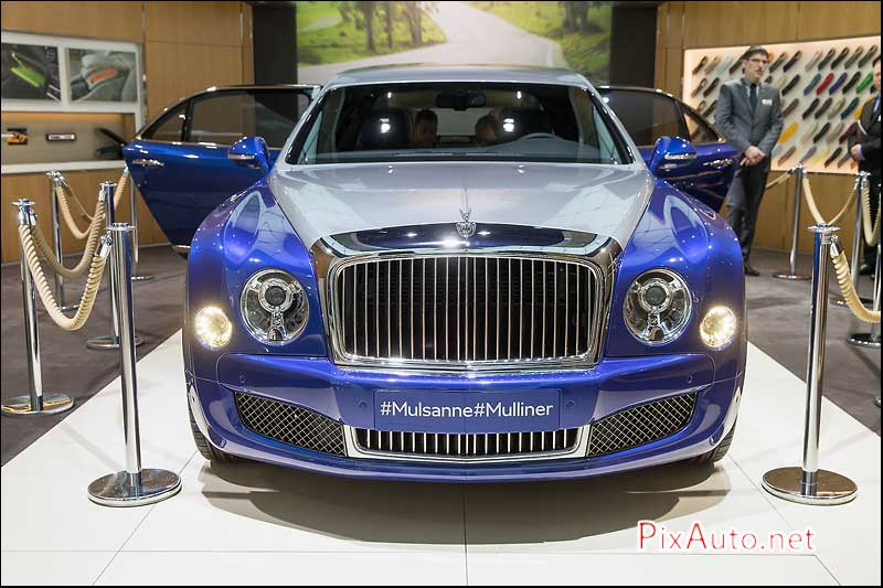 Salon-auto-geneve, Bentley Mulsanne Muliner