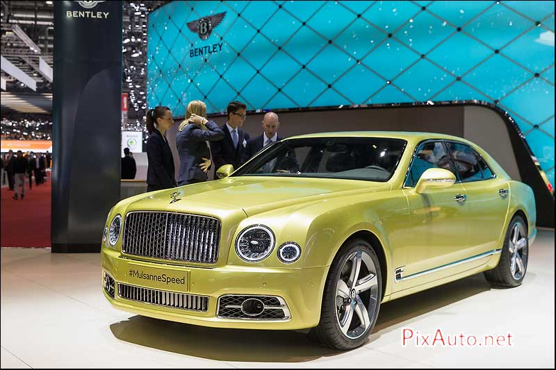 Salon-auto-geneve, Bentley Mulsanne Speed