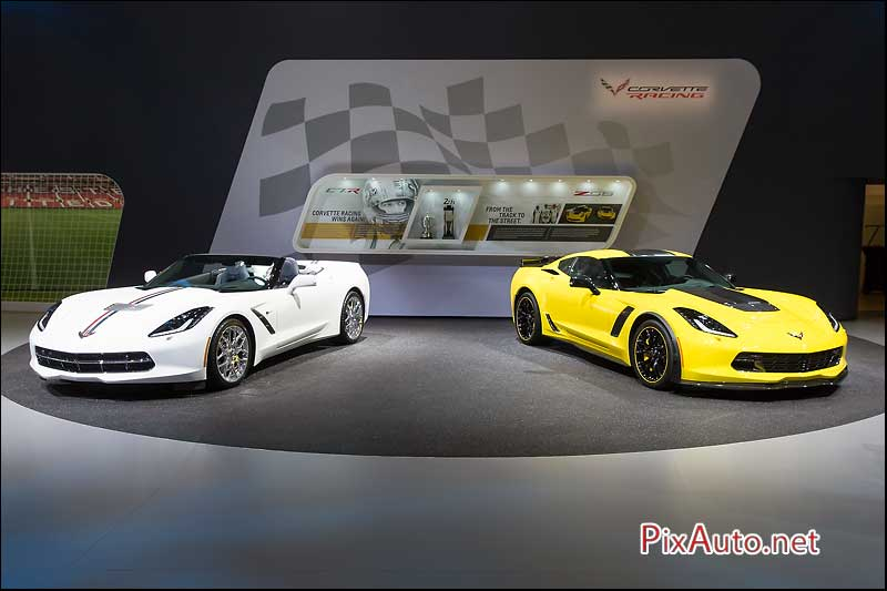 Salon-auto-geneve, Corvette Z06 Convertible et Coupe
