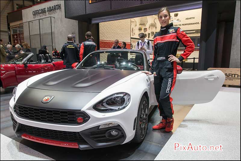 Salon-auto-geneve, Fiat 124 Spider Abarth