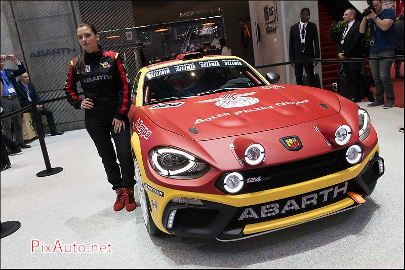 Salon-auto-geneve, Fiat Abarth 124 Rally