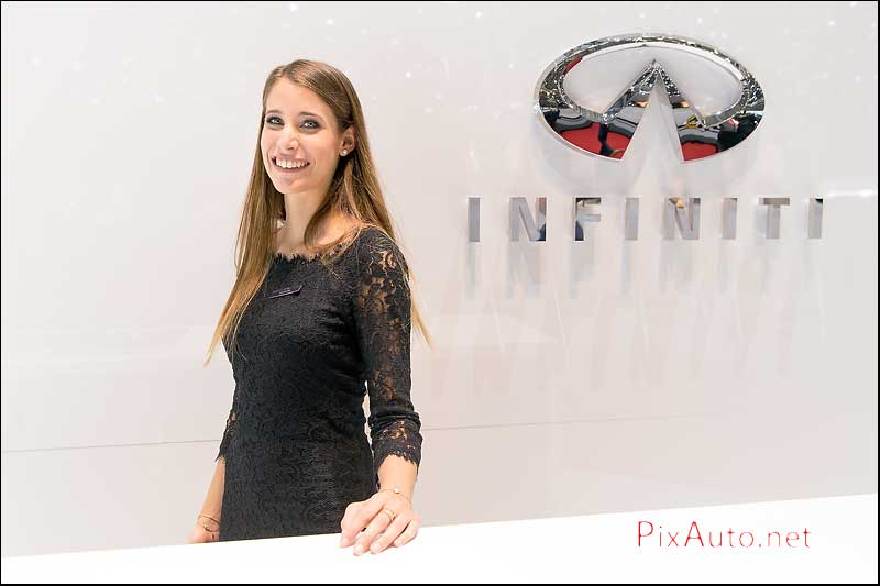 Geneva International Motor Show, Hotesse Infinity
