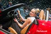 Geneva International Motor Show, Hotesse Fiat 124 Spyder