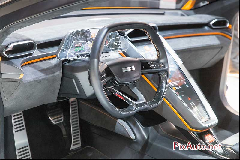 Salon-auto-geneve, Italdesign Gtzero Cockpit