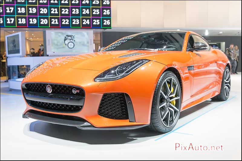 Salon-auto-geneve, Jaguar F-Type SVR