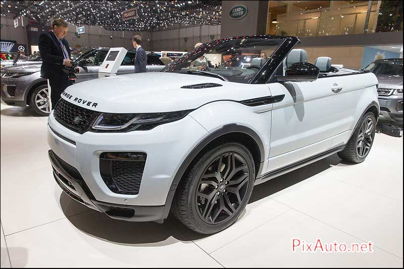 Salon-auto-geneve, Land Rover Evoque Convertible