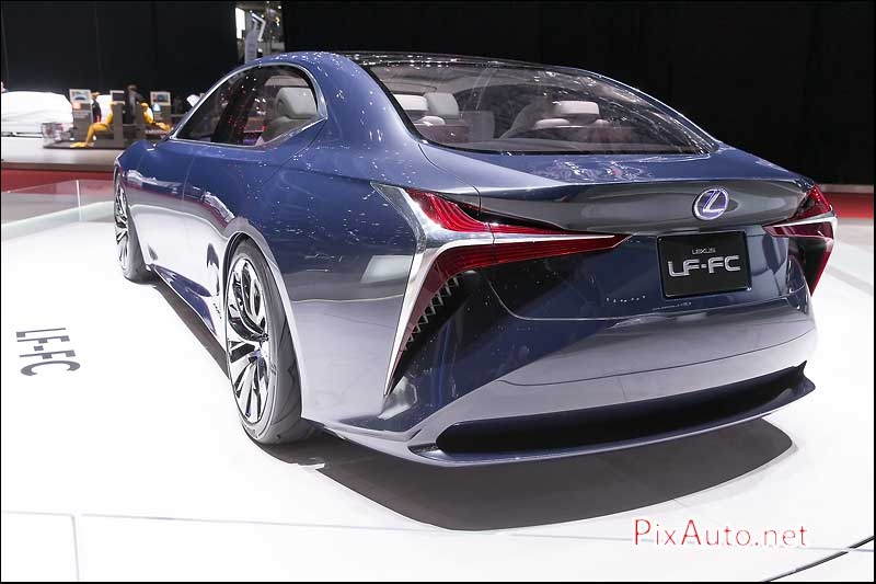Geneva International Motor Show, Lexus Lf FC Rear