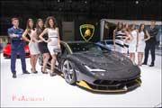 86e Salon de Geneve, Lamborghini Centenario