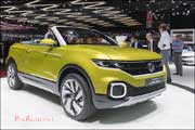86e Salon de Geneve, Concept VW T-Cross Breeze