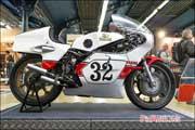Salon-Moto-Legende 2016, Yamaha TZ750 Steve Baker 1977