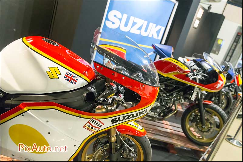 Salon-Moto-Legende, Motos Suzuki