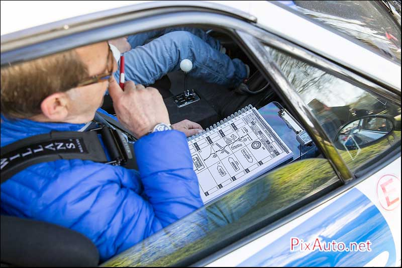 Tour Auto Optic 2000, Lecture Roadbook
