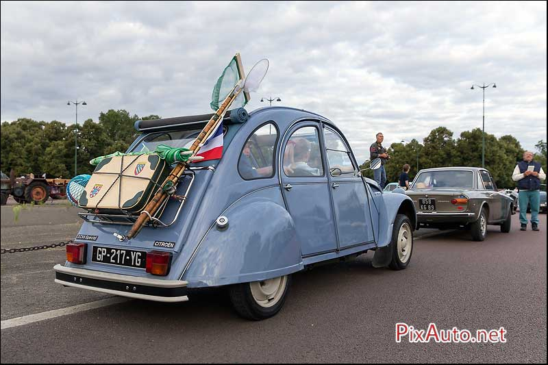 Traversee-de-Paris-Estivale, Citroen 2cv