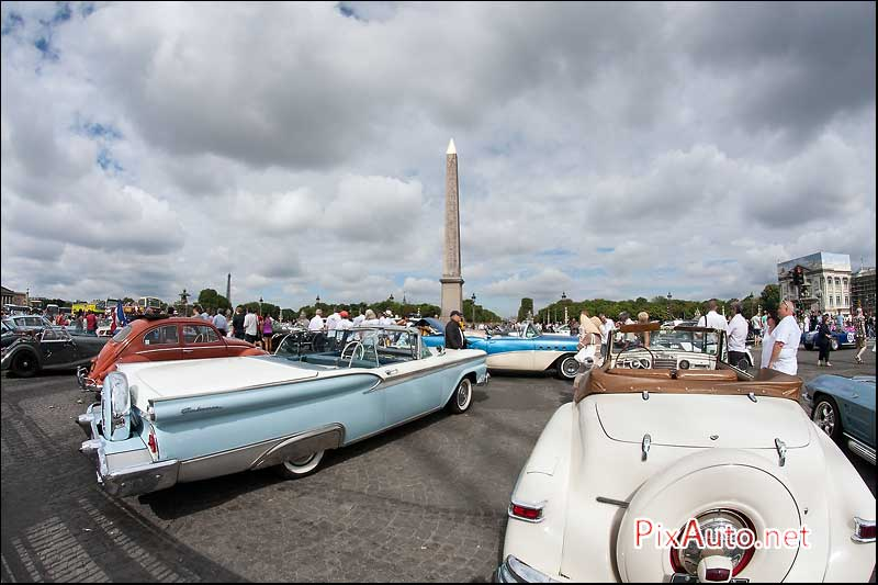 Traversee-de-Paris-Estivale, Ford Galaxie Sunliner Convertible