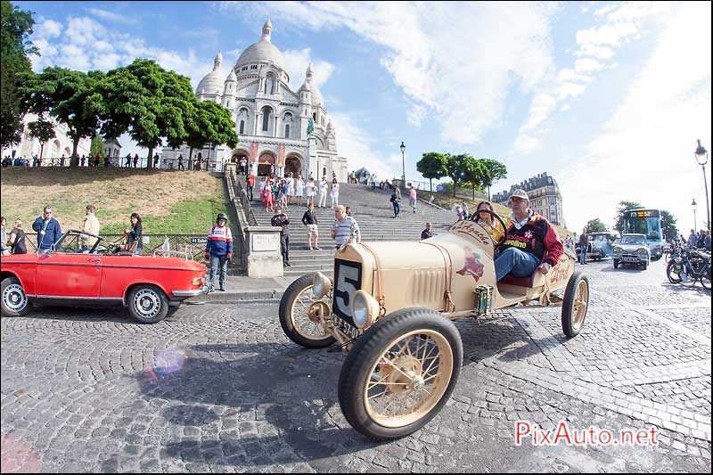 Traversee-de-Paris-Estivale, Ford T Butte Montmartre