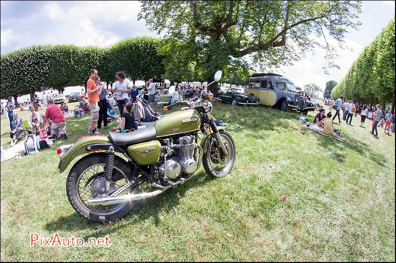 Traversee-de-Paris-Estivale, Honda 500 Four
