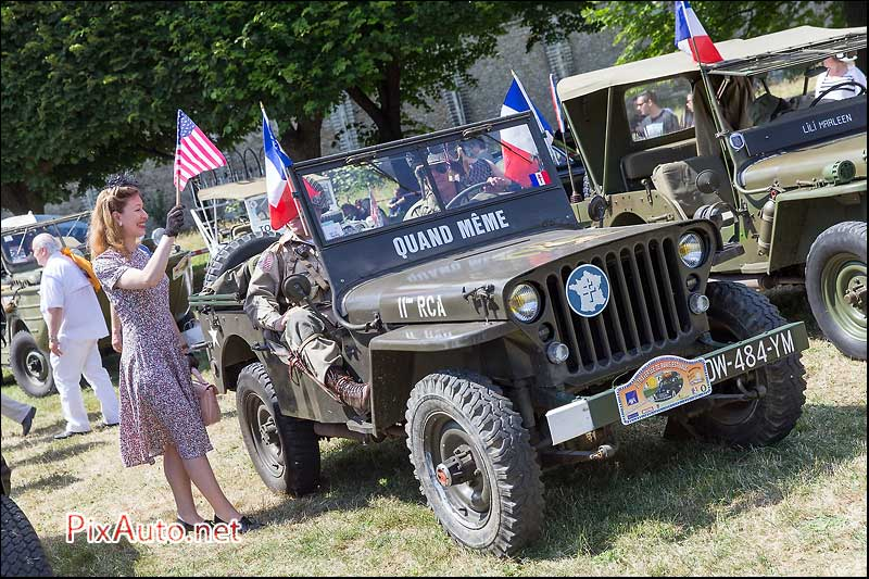 Traversee-de-Paris-Estivale, Jeep Liberation
