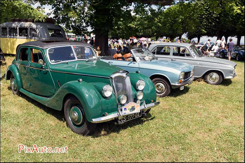 Traversee-de-Paris-Estivale, Riley RMB de 1952