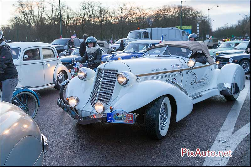 Traversee-de-Paris, Auburn 851 Super-Charged Speedster