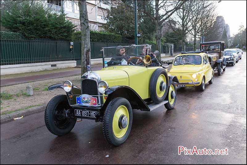 Traversee-de-Paris 2016, Citroen 5HP de 1925