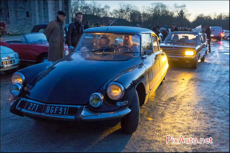 Traversee-de-Paris 2016, Citroen DS