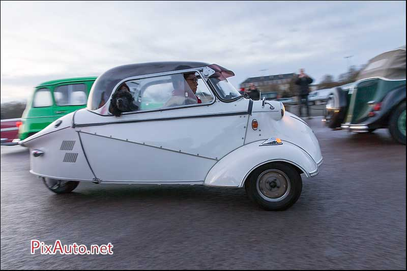 Traversee-de-Paris 2016, Messerschmitt