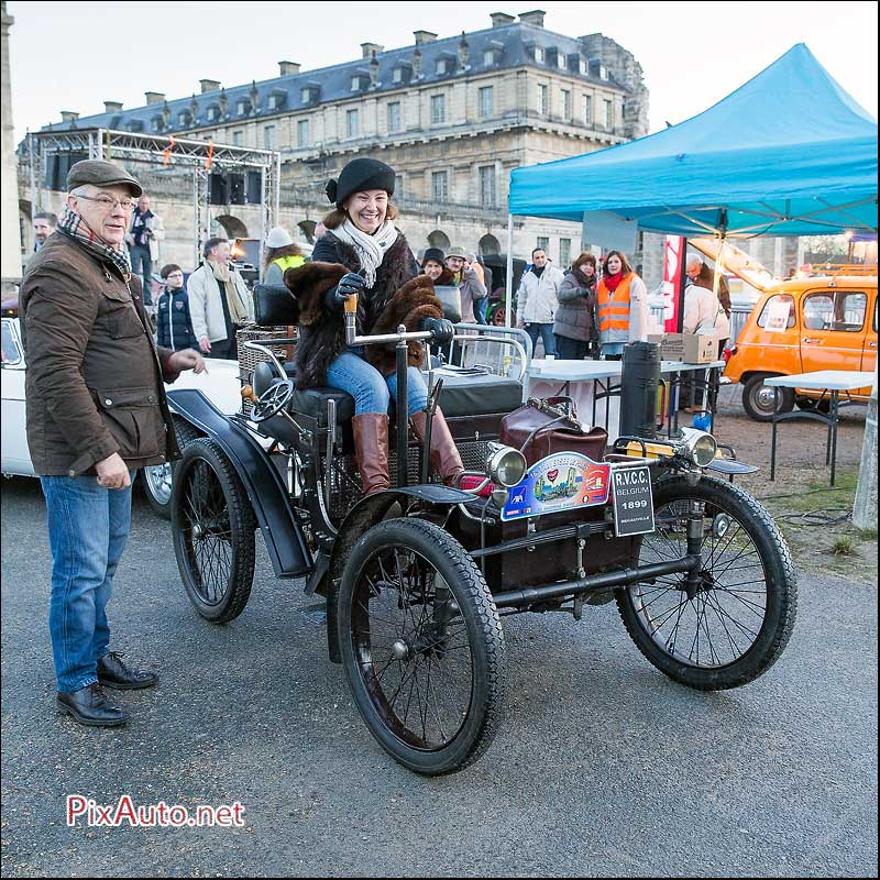 Traversee-de-Paris 2016, Voiturelle Decauville de 1899