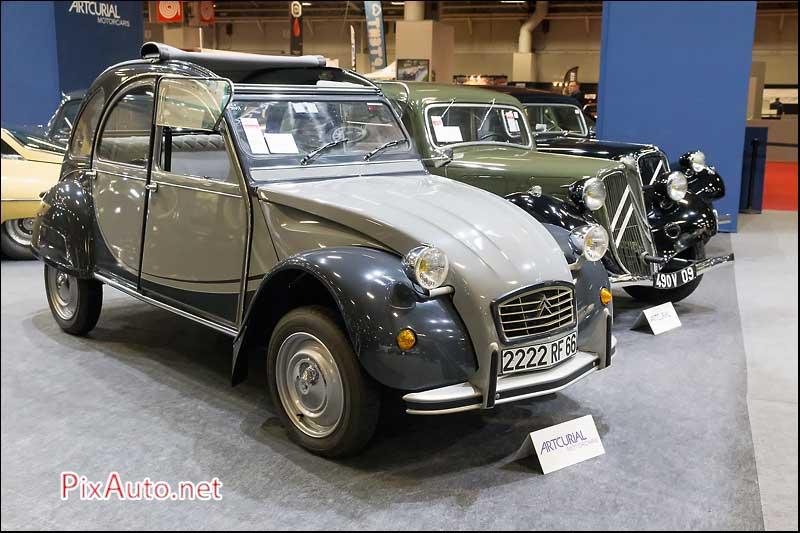 Artcurial A Retromobile, Citroen 2CV6 Charleston