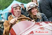Vintage-Revival-Montlhery, Portraits equipage Amilcar