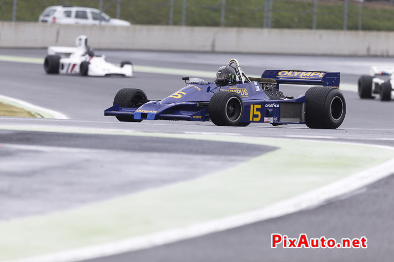 Grand-Prix-de-France-Historique, F1 #15 Hesketh 308E de 1978
