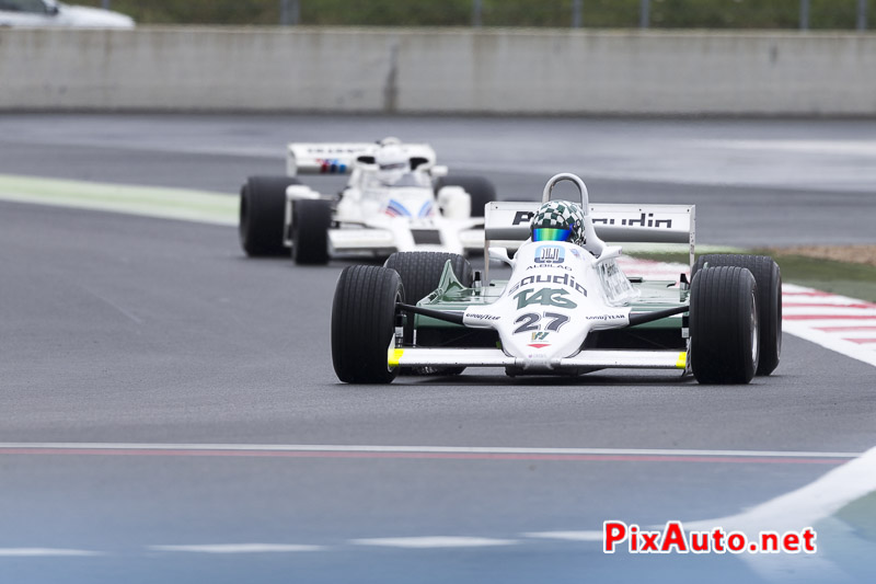 Grand-Prix-de-France-Historique, F1 #27 Williams FW07D