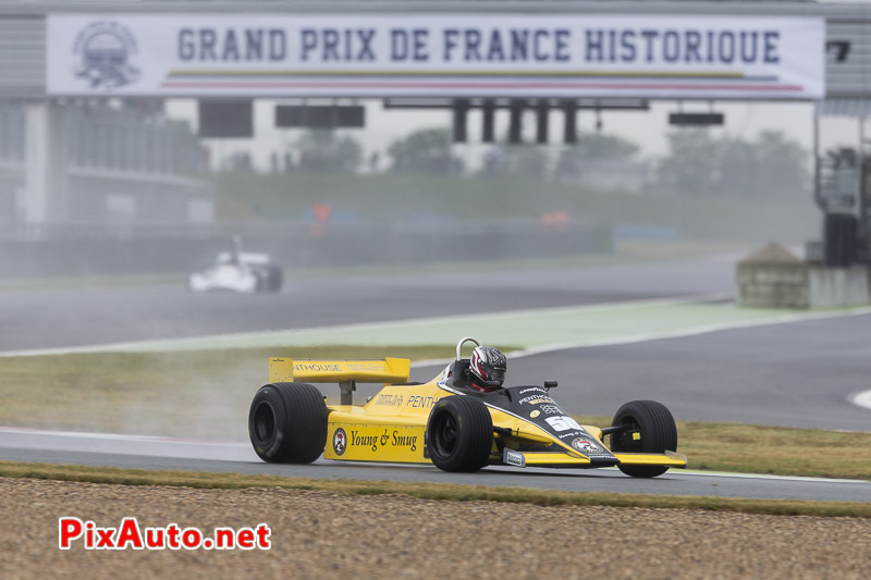 Grand-Prix-de-France-Historique, F1 #50 Williams FW07B