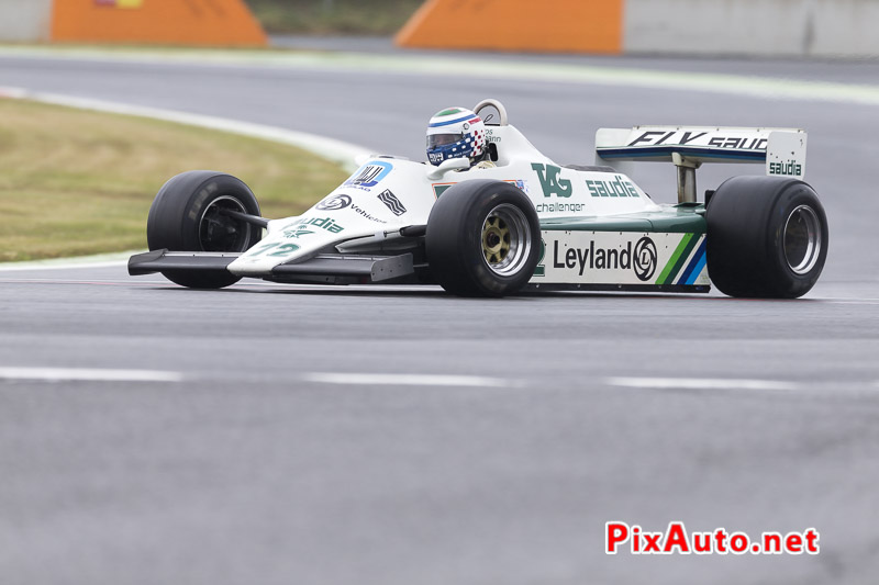 Grand-Prix-de-France-Historique, F1 #72 Williams FW07B de 1980