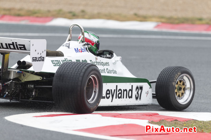 Grand-Prix-de-France-Historique, F1 #37 Williams FW07C a Adelaide