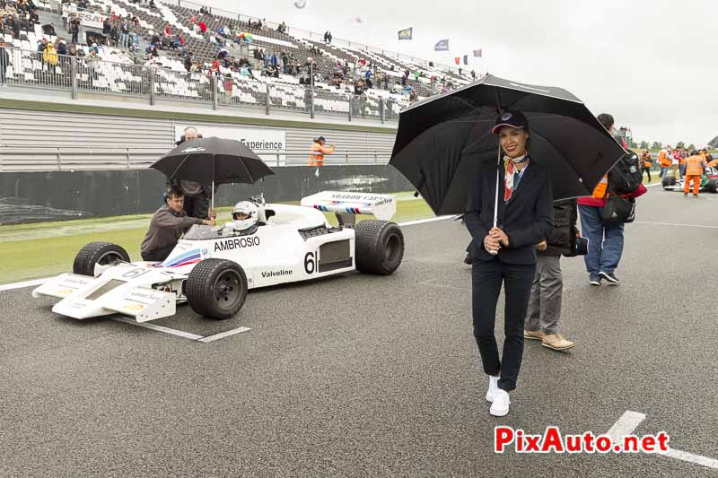 Grand-Prix-de-France-Historique, Umbrella Girl GP France