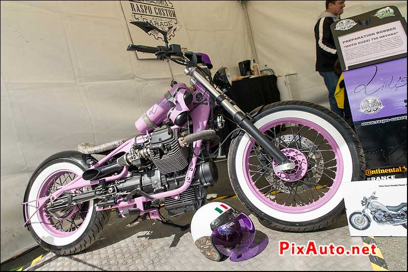 Iron Bikers, preparation Bobber Moto Guzzi 750