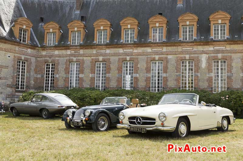 Motors-and-Soul, Mercedes 190SL et Morgan