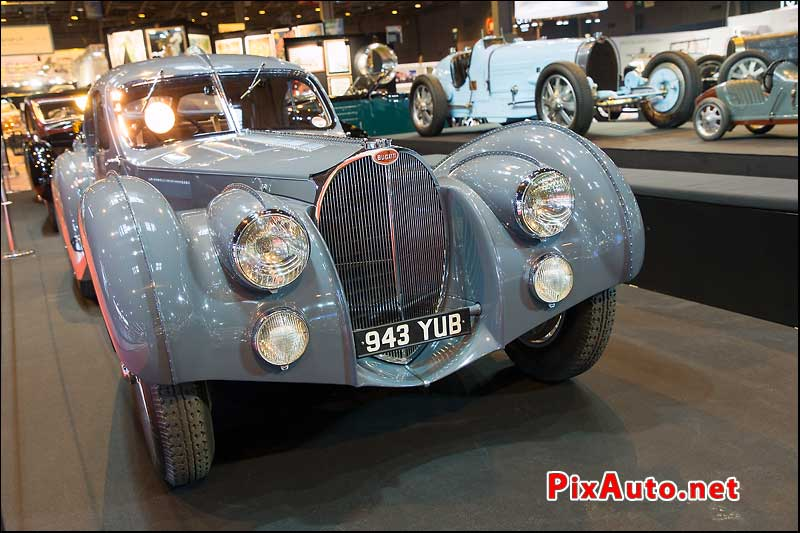Salon Retromobile, Bugatti 57 Atalante 1936